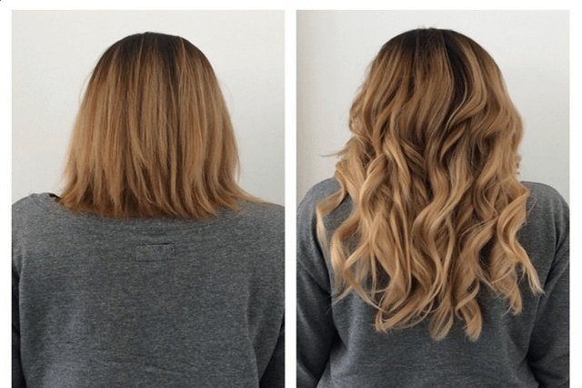 How to Make Extensions Look Real in Short Hair